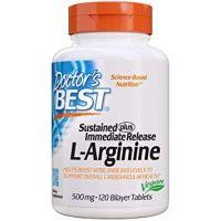 L-Arginina Sustained + Immediate release 500 mg (120 tabl.) Doctor's Best