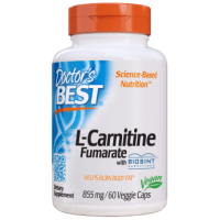 L-Carnitine Fumarate - Fumaran L-Karnityny 855 mg (60 kaps.) Doctor's Best