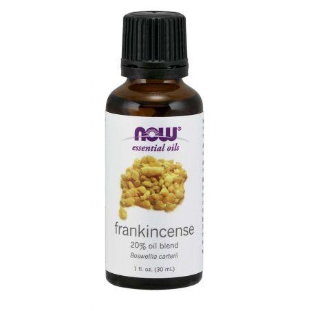 Olejek Eteryczny Frankincense - 20% Oil Blend Boswellia Carterii (30 ml) NOW Foods