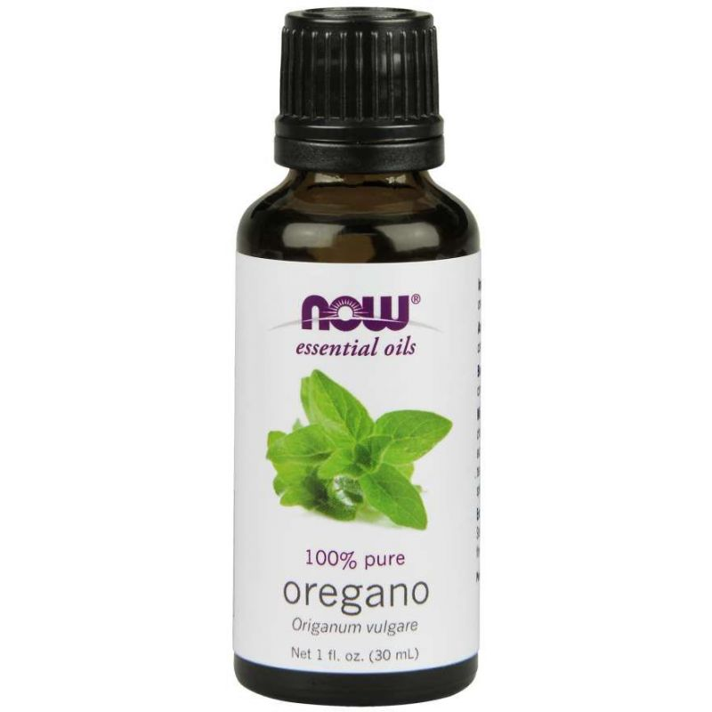 100% Olejek z Oregano - Oregano (30 ml) NOW Foods