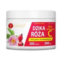 Dzika Róża 1000 mg ekstrakt 20:1 - 70% Witaminy C (300 g) Yango