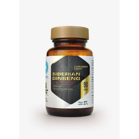 Siberian Ginseng Turbo - Żeń-szeń Syberyjski 200 mg (90 kaps.)