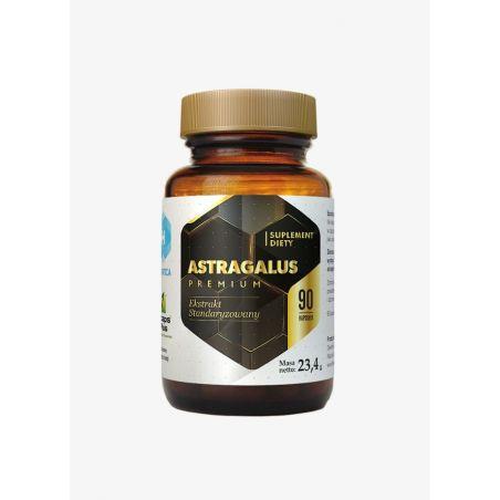 Astragalus Premium - Traganek 180 mg (90 kaps.) Hepatica