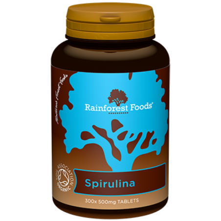 BIO Spirulina (300 tabl.) Rainforest Foods