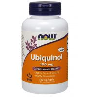 Ubichinol - Koenzym Q10 100 mg (120 kaps.) NOW Foods