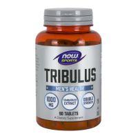 Tribulus 1000 mg - ekstrakt standaryzowany na 45% Saponin (90 tabl.) NOW Foods