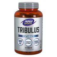 Tribulus 1000 mg - ekstrakt standaryzowany na 45% Saponin (180 tabl.) NOW Foods