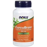 CurcuBrain 400 mg (50 kaps.) NOW Foods