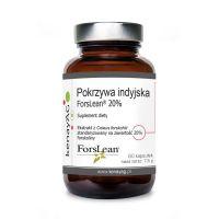 Pokrzywa indyjska (Coleus Forskohlii) - ekstrakt standaryzowany na 20% forskoliny (60 kaps.) KenayAG