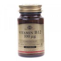 Witamina B12 100 mcg (100 tabl.) Solgar
