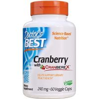Cranberry with Cranberex - Żurawina 240 mg (60 kaps.) Doctor's Best