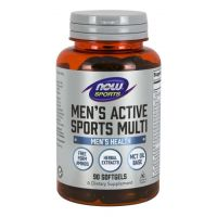 Men's Active Sports Multi (90 kaps.) NOW Foods