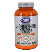 L-Ornityna (227 g) NOW Foods