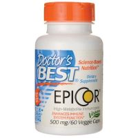 EpiCor - Saccharomyces Cerevisiae 500 mg (60 kaps.) Doctor's Best