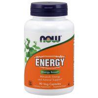 Energy - Zastrzyk Energii (90 kaps.) NOW Foods
