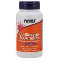 Kompleks Witamin z grupy B + Kwas alfa liponowy + Koenzym Q10 (60 kaps.) NOW Foods