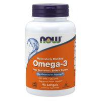 Omega 3 - DHA 120 mg + EPA 180 mg (90 kaps.) NOW Foods