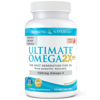 Ultimate Omega 2X Mini - Omega 3 o smaku truskawkowym (60 kaps.) Nordic Naturals