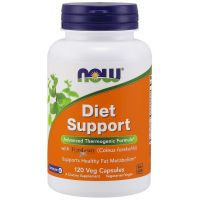 Diet Support (120 kaps.) NOW Foods