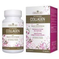 Collagen Beauty Formula - Kolagen morski (90 kaps.) Natures Aid