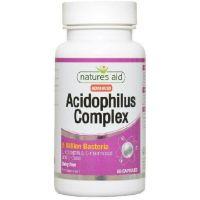 Probiotyk Acidophilus Complex 5 miliardów CFU (60 kaps.) Natures Aid
