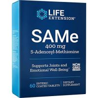 SAMe - S-Adenozylo L-Metionina 400 mg (60 tabl.) Life Extension