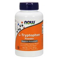 L-Tryptofan (57 g) NOW Foods