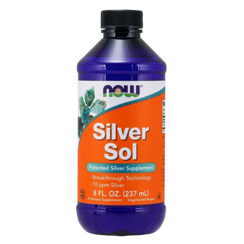 Silver Sol (237 ml) NOW Foods