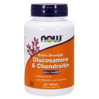 Glukozamina i Chondroityna (60 tabl.) NOW Foods
