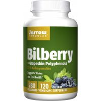 Bilberry + Grapeskin Polyphenols (120 kaps.) Jarrow Formulas