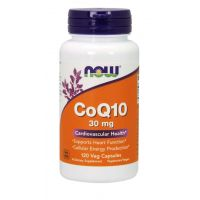 Koenzym Q10 30 mg (120 kaps.) NOW Foods