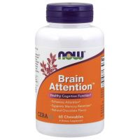 Brain Attention (60 tabl.) NOW Foods