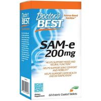 SAMe - S-Adenozylo L-Metionina 200 mg (60 tabl.) Doctor's Best