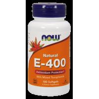 Witamina E 400 IU (100 kaps.) NOW Foods