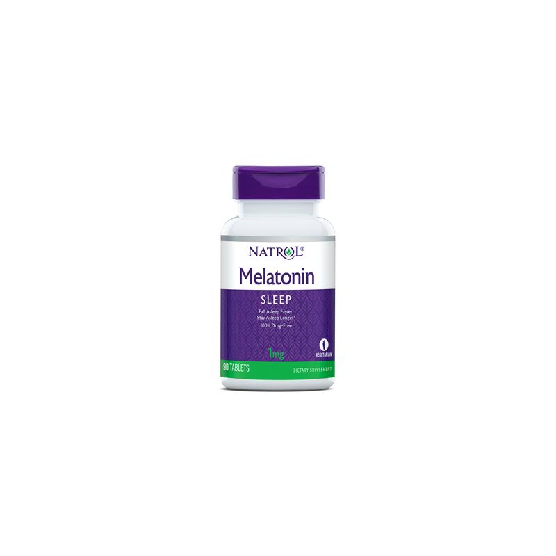 Melatonina 1 mg (90 tabl.) Natrol