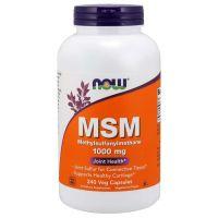 Siarka MSM - Metylosulfonylometan 1000 mg (240 kaps.) NOW Foods