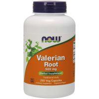 Valerian Root (Waleriana) - Kozłek Lekarski 500 mg (250 kaps.) NOW Foods