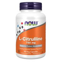L-Citrulline - L-Cytrulina 750 mg (90 kaps.) NOW Foods