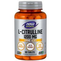 L-Citrulline - L-Cytrulina 1200 mg (120 tabl.) NOW Foods