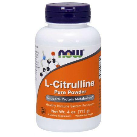L-Citrulline - L-Cytrulina (113 g) NOW Foods