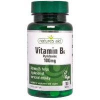 Witamina B6 100 mg (100 tabl.) Natures Aid