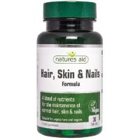 Hair, Skin & Nails - Włosy, Skóra i Paznokcie (30 tabl.) Natures Aid