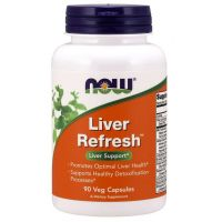 Liver Refresh - Wsparcie Wątroby (90 kaps.) NOW Foods