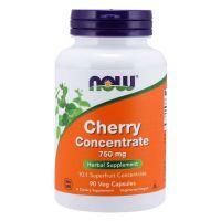 Wiśnia - koncentrat z owocu 750 mg (90 kaps.) NOW Foods