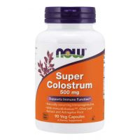 Super Colostrum 500 mg (90 kaps.) NOW Foods