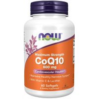 Koenzym Q10 600 mg (60 kaps.) NOW Foods