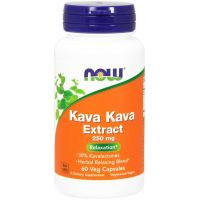 Kava Kava - ekstrakt 250 mg (60 kaps.) NOW Foods