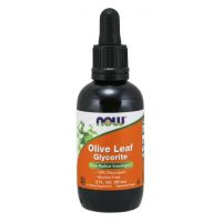 Olive Leaf Glycerite - Liść Oliwny (59 ml) NOW Foods