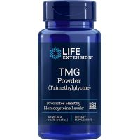 TMG Trimetyloglicyna - Betaina Bezwodna (50 g) Life Extension