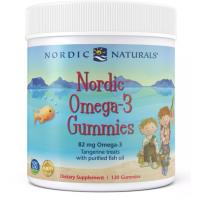 Nordic Omega-3 Gummies - Omega 3 o smaku mandarynkowym (120 żelków) Nordic Naturals